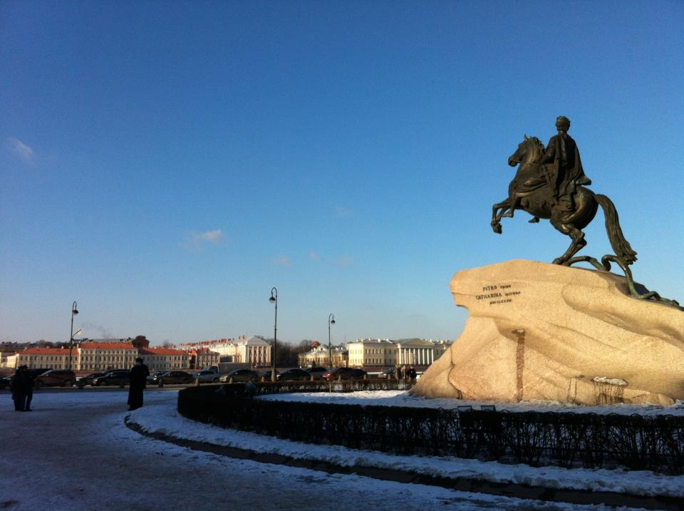 3rd Year Uni - Year Abroad St Petersburg Course Vo