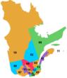 Régions du Québec