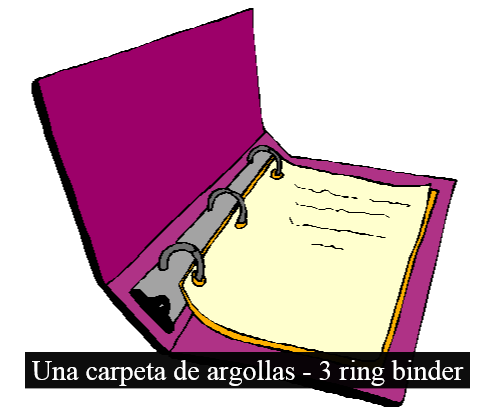 La Carpeta De Argollas In English Carpet Vidalondon