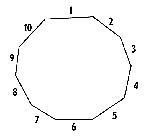 Number Names Worksheets a shape with 10 sides : A fun and easy way to remember 'decagon' in Maths - Memrise