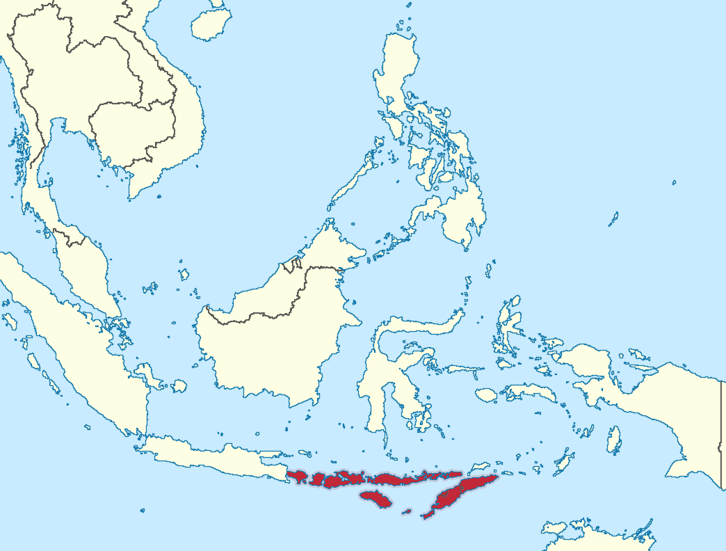 Greater Sunda Islands On The Map