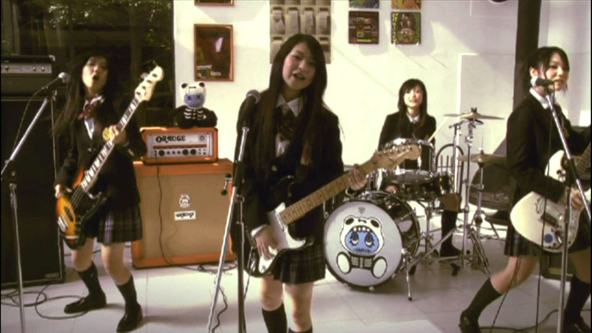 level 8   fun with scandal all girl japanese rock band
