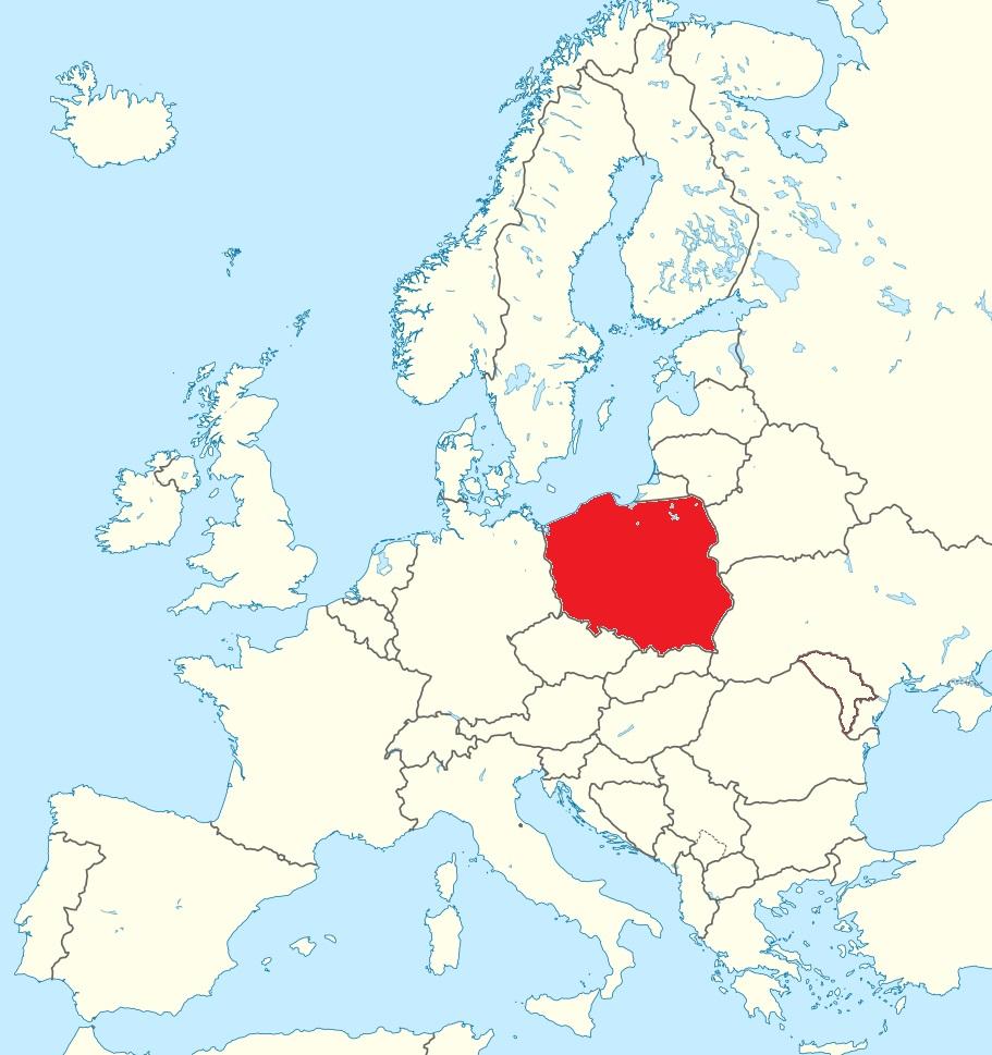 Level 3 Panstwa Europy Srodkowej I Wschodniej Mapa Polityczna