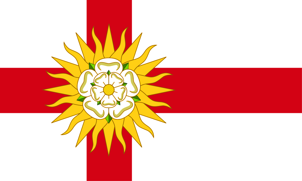 LANCASHIRE COUNTY FLAG  5ft x 3ft  Polyester Flag OLD