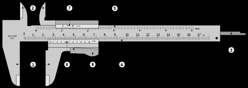 Level 4 tool names in english no memrise vernier caliper ccuart Images