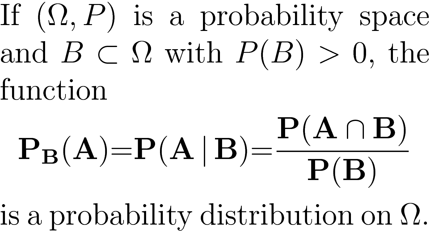 how to find conditional probability from joint distribution