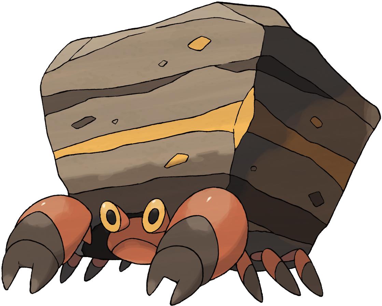 Pokemon Crustle Evolution Mega Slowbro and Paras...